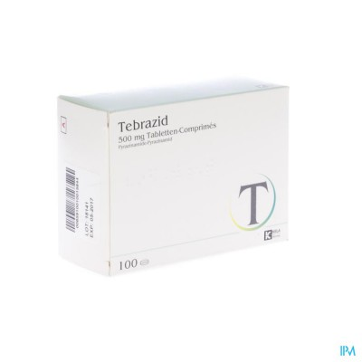 TEBRAZID COMP 100 X 500 MG