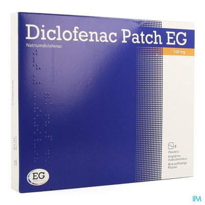 Diclofenac Patch Eg 140mg Pleister 5