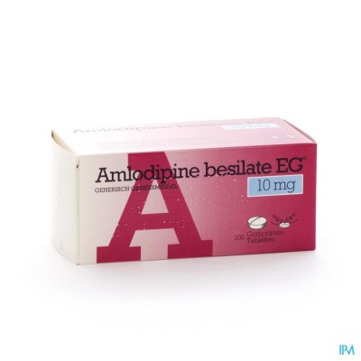 Amlodipine Besilate Eg Comp 100 X 10mg