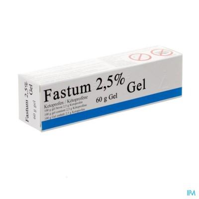 Fastum Gel 2,5% Impexeco Tube 60g Pip