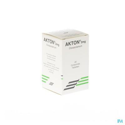 Akton Comp 20 X 2mg