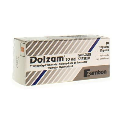 DOLZAM CAPS 30X50MG