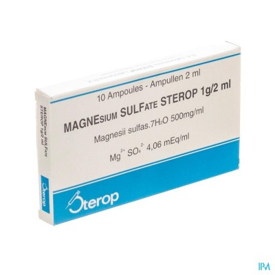 Magnesium Sulfaat-stp Insp. Opl. 1g/2ml 10