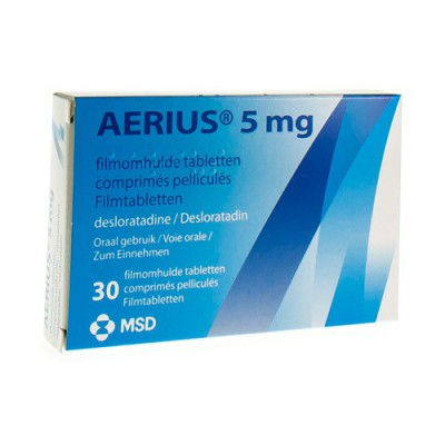 AERIUS COMP 30 X 5 MG