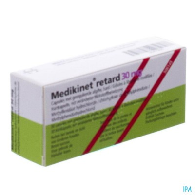 Medikinet 30mg Caps Retard 30