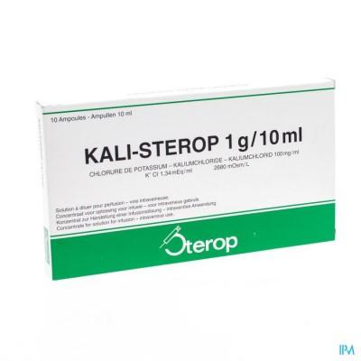 Kali Sterop 10% Iv 10 X 1g/10ml