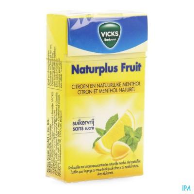 Vicks Lemon+c Zonder Suiker 40g Box