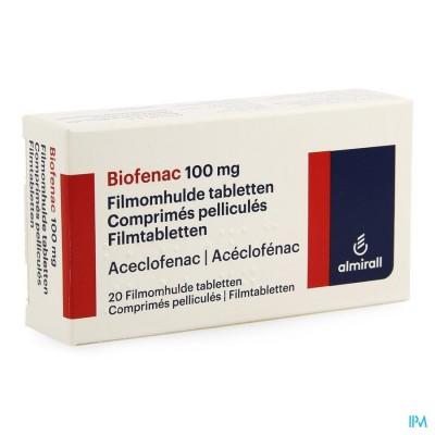 Biofenac Almiral Comp 20x100mg