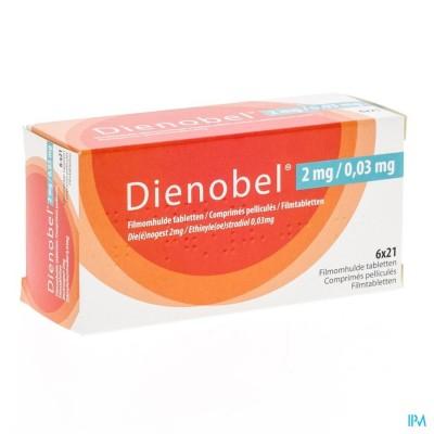 DIENOBEL 2MG/0,03MG FILMOMH TABL 6X21