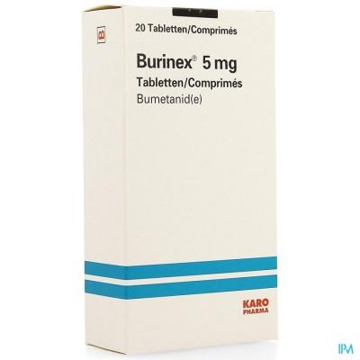 BURINEX LEO COMP 20 X 5 MG