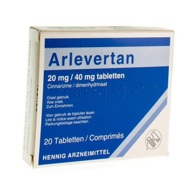 ARLEVERTAN KELA 20 MG/40 MG TABL 20