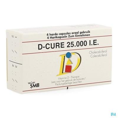 D Cure 25000ie Gelulen 4