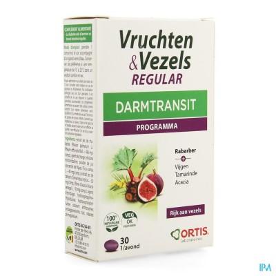 Ortis Vruchten & Vezels Regular Comp 30