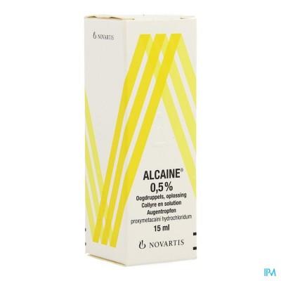 Alcaine Collyre 15ml 0,5%
