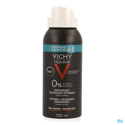 Vichy Homme Deo Aero Optimale Tolerantie 48h 100ml