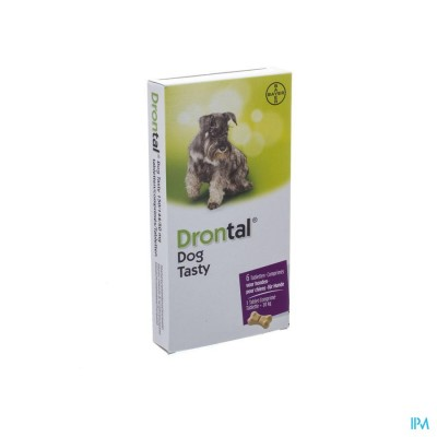 DRONTAL TASTY BONE 150/144/5MG 10KG DOG COMP 6