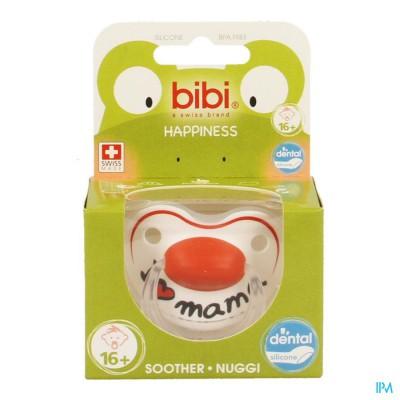 Bibi Fopspeen Hp Dental I Love Mama +16m