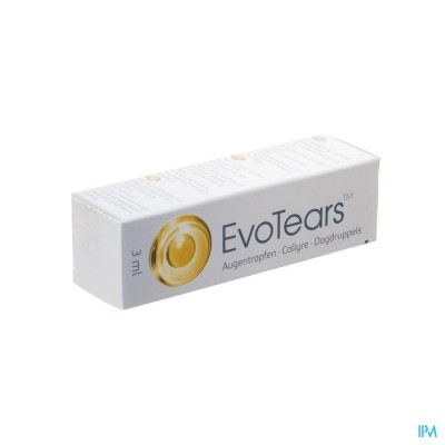 EVOTEARS COLLYRE 3ML