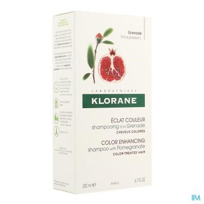 Klorane Capil. Sh Granaatappel 200ml