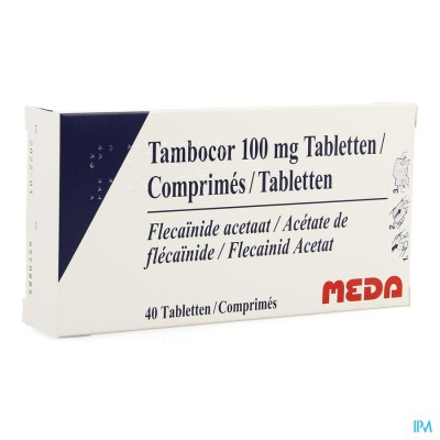 Tambocor Comp 40 X 100mg