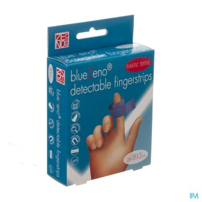 Bluezeno Detectable Fingerstrip 18,0x3,0cm 20
