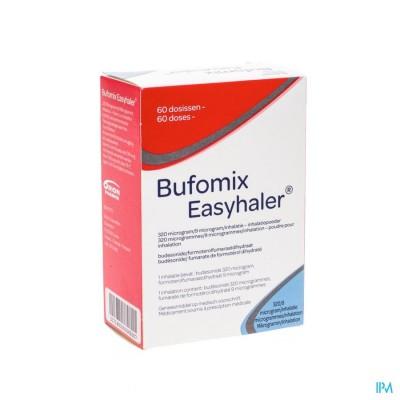 Bufomix 320mcg 9,0mcg Easyhaler Inhal Pdr Dos 60