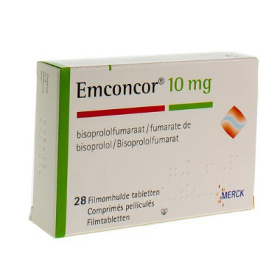 EMCONCOR 10 DRAG 28X10MG