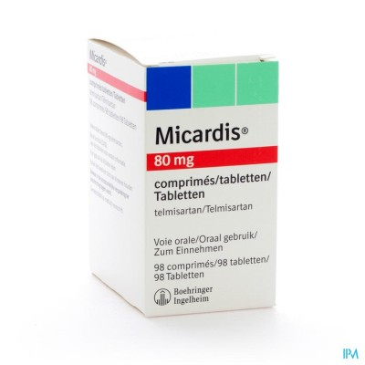 Micardis Comp 98 X 80mg