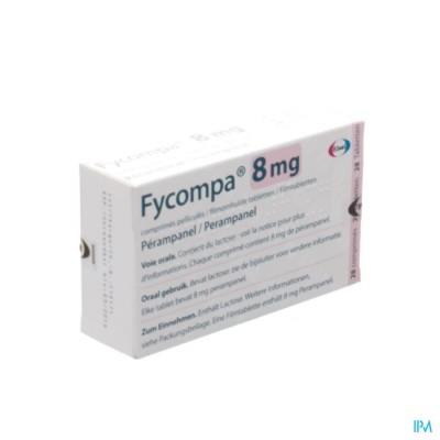 FYCOMPA 8 MG OMHULDE TABL 28 X 8 MG