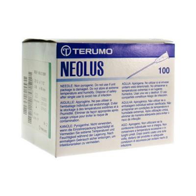 TERUMO NAALD NEOLUS 21G 1 1/2 RB GROEN 100