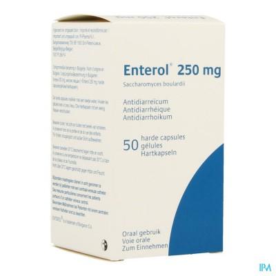 Enterol 250mg Pi Pharma Harde Caps 50 Pip