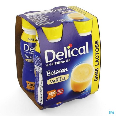Delical Effimax 2.0 Vanille 4x200ml