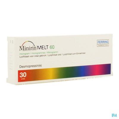 Minirin Melt 60 Ug Lyoph Or 30