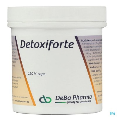 Detoxiforte V-caps 120 Deba