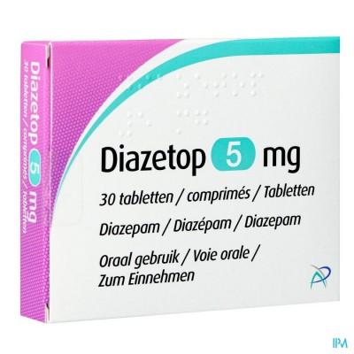 Diazetop 5mg Comp 30 X 5mg