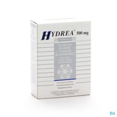 Hydrea Caps 20 X 500mg