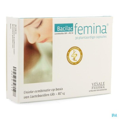 BACILAC FEMINA CAPS 30
