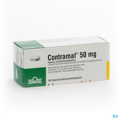 Contramal Caps 60x50mg