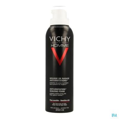 Vichy Homme Scheerschuim Anti Irrit. 200ml
