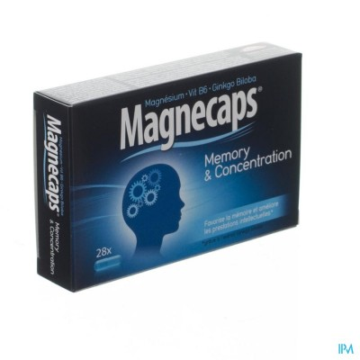 MAGNECAPS MEMORY&CONCENTRATION CAPS 28