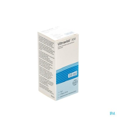 ULTRAVIST 300 FL INJ 1 X 10 ML