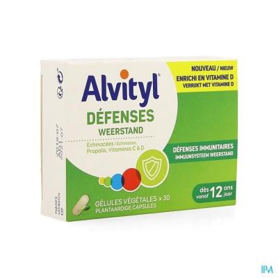 Alvityl Weerstand V-caps 30