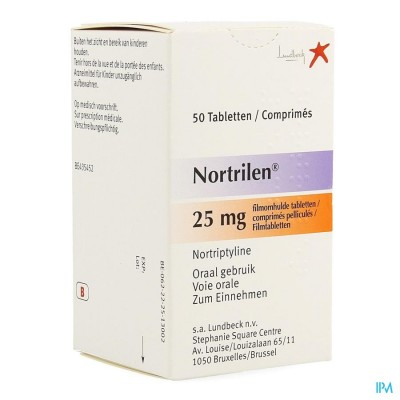 Nortrilen Comp 50 X 25mg