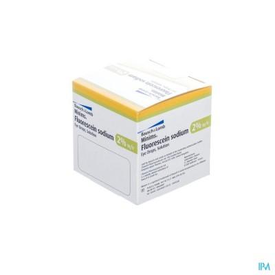 MINIMS FLUORESCEINE 2% 2OX0,5ML
