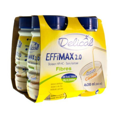 DELICAL EFFIMAX 2.0 VEZELS GRANEN 4X200ML