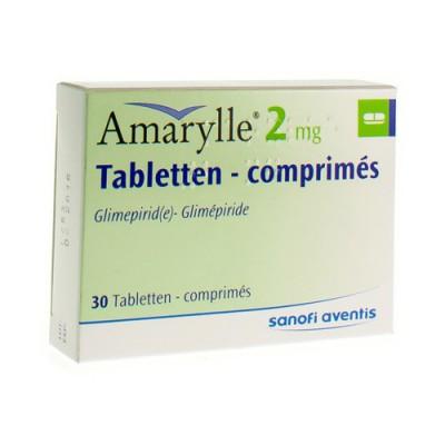 AMARYLLE TABL 30 X 2 MG