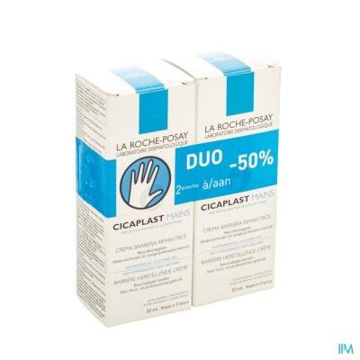 LRP CICAPLAST HANDCREME DUO 2X50ML 2E-50%