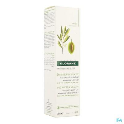 Klorane Capil. Spray Olijfboom Pompfl 125ml