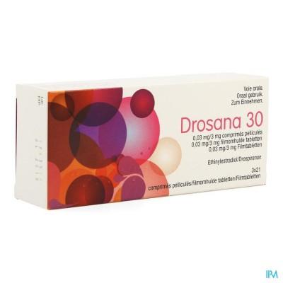 Drosana 30 0,03mg/3mg Filmomh Tabl 3 X 21