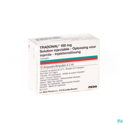 Tradonal Amp 10 X 2ml